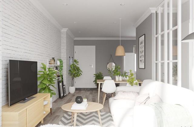 Ngắm căn hộ màu trắng đẹp tinh khôi - Ảnh 3.