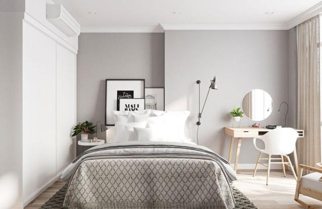 Ngắm căn hộ màu trắng đẹp tinh khôi - Ảnh 8.