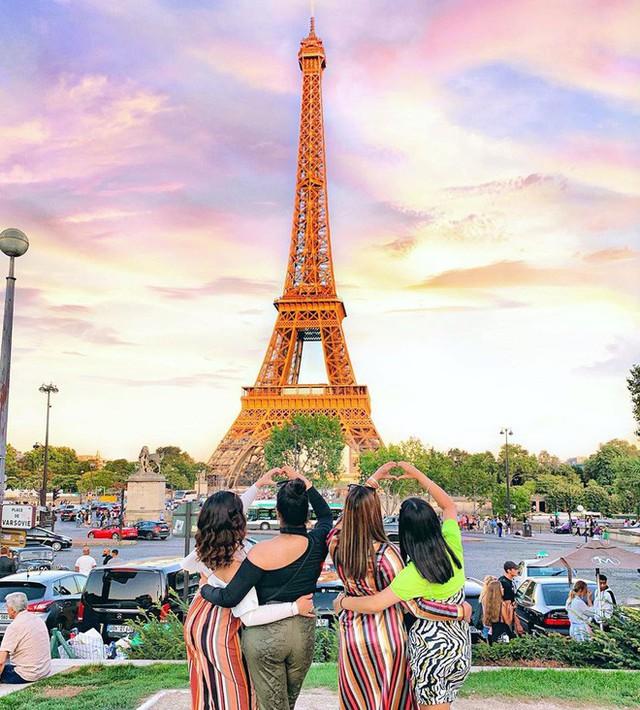Những địa điểm được check-in nhiều nhất trên Instagram: Tháp Eiffel dẫn đầu với gần 6 triệu hashtag - a4