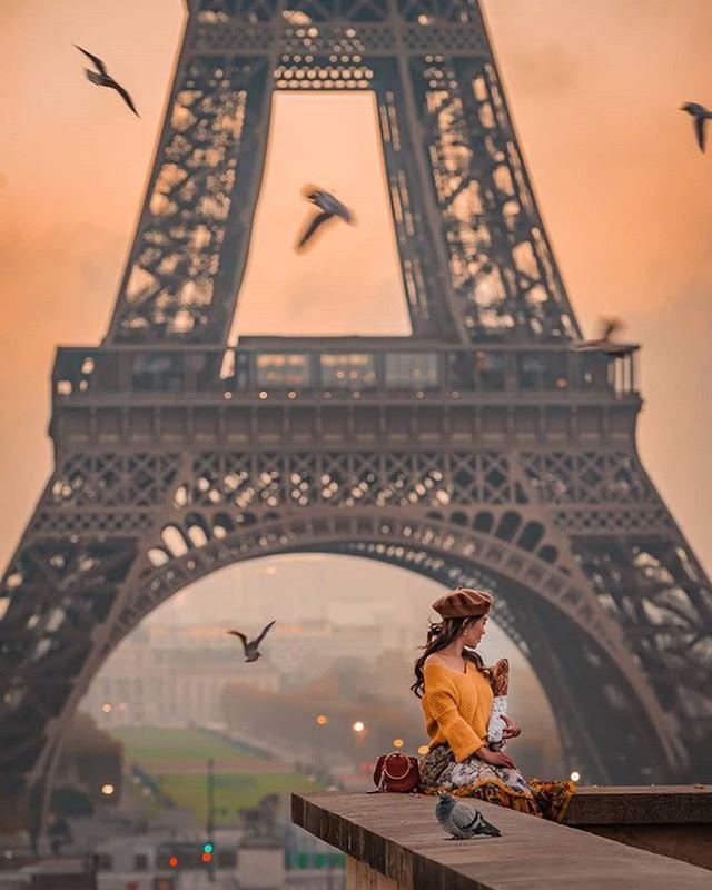 Những địa điểm được check-in nhiều nhất trên Instagram: Tháp Eiffel dẫn đầu với gần 6 triệu hashtag - a6