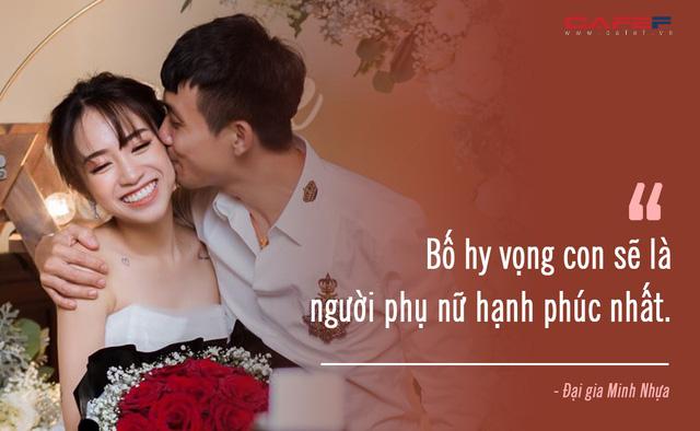 Xúc động trước lời dặn dò của đại gia Minh Nhựa đến con gái ngày cưới: Dù giàu có tới đâu, nhìn con hạnh phúc mới là điều quý giá nhất! - Ảnh 4.