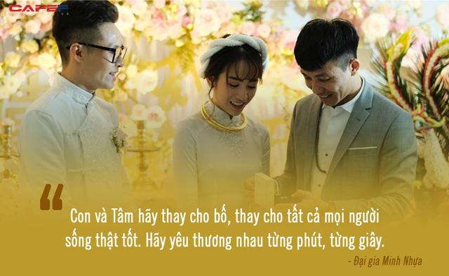 Xúc động trước lời dặn dò của đại gia Minh Nhựa đến con gái ngày cưới: Dù giàu có tới đâu, nhìn con hạnh phúc mới là điều quý giá nhất! - Ảnh 5.