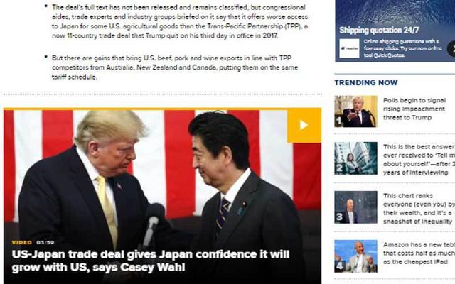 Công bố đặc biệt từ Donald Trump, dồn Trung Quốc vào thế khó