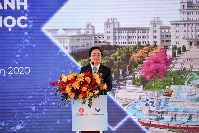 Phó Thủ tướng Vũ Đức Đam phát biểu tại lễ khánh thành VinUni: Chúng tôi rất mong tinh thần này, trách nhiệm này được nhân rộng - Ảnh 2.