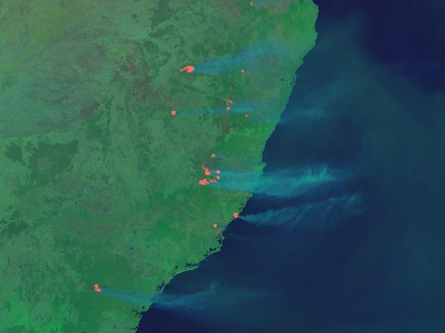 Phi hành gia NASA chia sẻ hình ảnh cháy rừng đại thảm họa nước Úc từ vũ trụ: Chỉ vài tấm ảnh thôi là đủ để thấy tình trạng đau lòng đến mức nào - Ảnh 4.