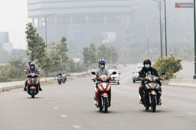 Toà nhà cao nhất Việt Nam mờ ảo trong bụi mù, Sài Gòn tiếp tục bị ô nhiễm nặng những ngày giáp Tết  - Ảnh 11.