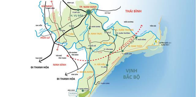 Xây đường ven biển gần 2.800 tỷ đồng đi qua Nam Định - Ảnh 1.