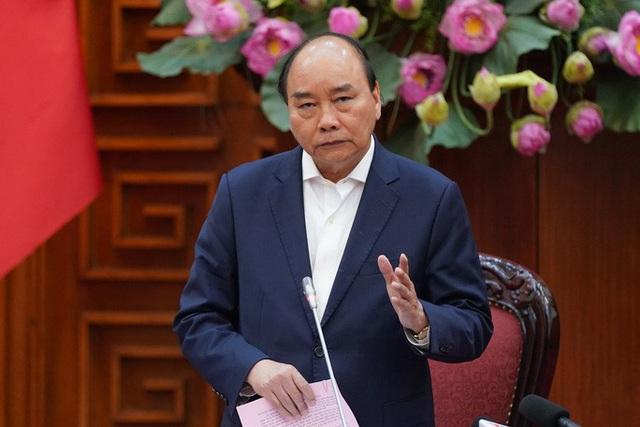 Thủ tướng chủ trì họp về phòng, chống dịch virus corona - Ảnh 1.