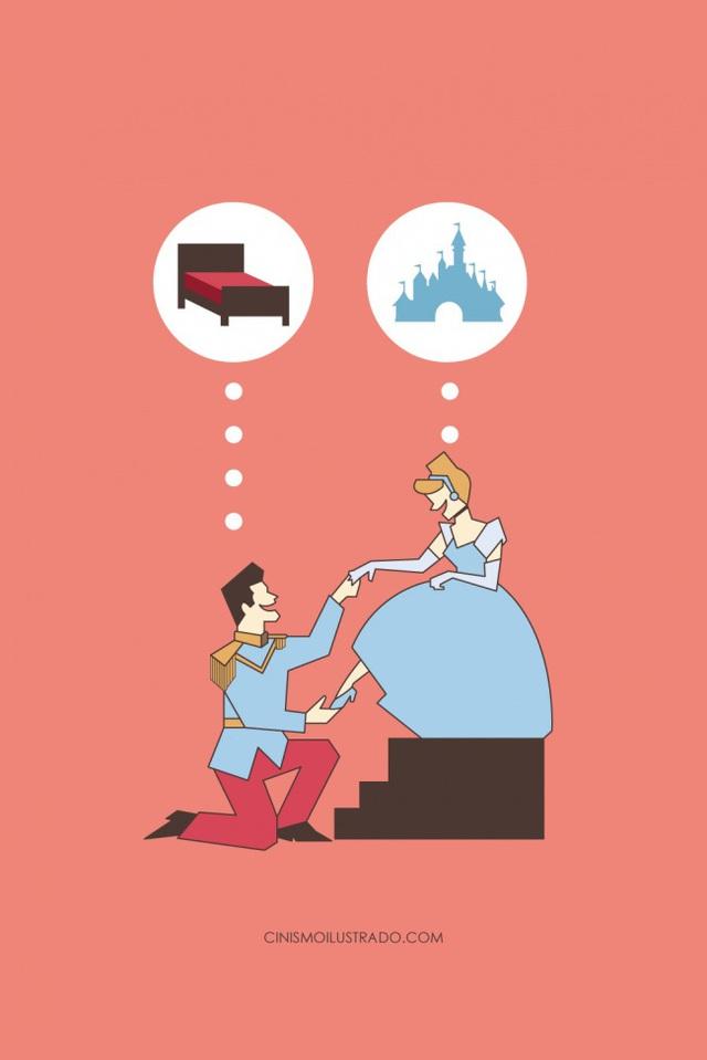 Dở khóc dở cười với hiện thực cuộc sống phũ phàng ẩn giấu trong tranh biếm họa của Eduardo Salles - Ảnh 2.