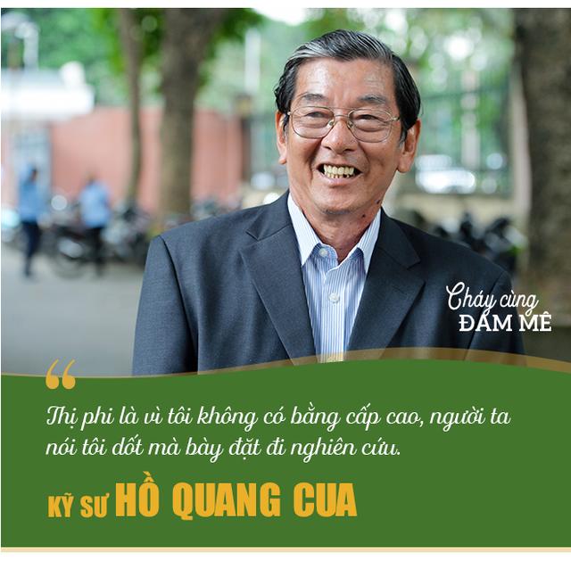 Kỹ sư Hồ Quang Cua - Cha đẻ của giống gạo ngon nhất thế giới: Ban đầu mình tính làm chơi thôi! - Ảnh 7.