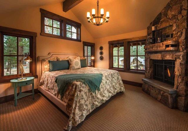 Ngôi nhà gỗ trên núi tuyệt đẹp, ai nhìn cũng thích mê - Ảnh 7.