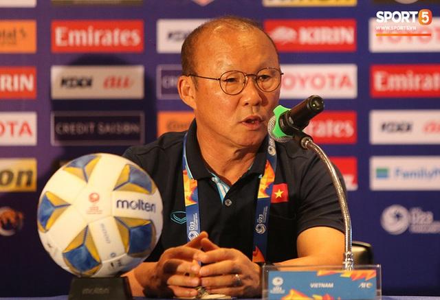 Họp báo VCK U23 châu Á 2020, Việt Nam vs UAE: Những sắc thái đặc biệt tạo nên thương hiệu của chiến lược gia Park Hang-seo  - Ảnh 10.