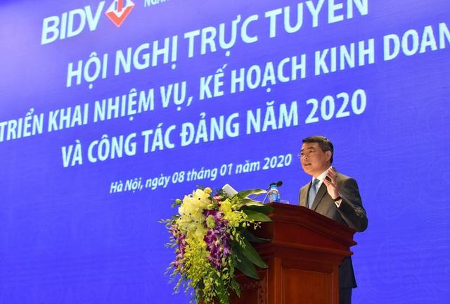 BIDV đặt mục tiêu lợi nhuận 12.600 tỷ đồng trong năm 2020 - Ảnh 1.