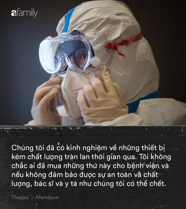 Tận lực chiến đấu với bệnh tật, y bác sĩ Vũ Hán còn đối mặt với khó khăn từ thiếu trang thiết bị đến nỗi khổ thù trong giặc ngoài khó ai thấu - Ảnh 3.