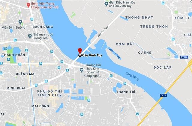 Đồng ý chủ trương xây cầu Vĩnh Tuy mới cách cầu cũ 2m - Ảnh 1.