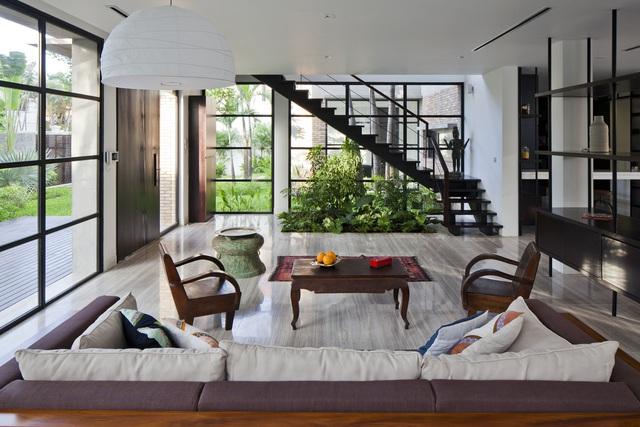 Bên trong biệt thự vạn người mê ở ngoại ô Sài Gòn - Ảnh 4.
