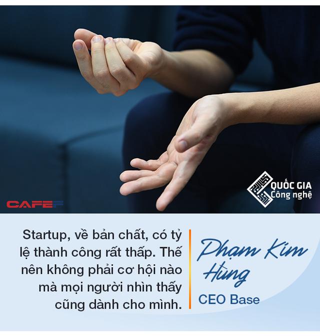 CEO Base Phạm Kim Hùng: Làm startup công nghệ muốn thành công thì cần nhất là chăm chỉ, làm việc từ 12 đến 16 tiếng/ngày trong nhiều năm - Ảnh 2.