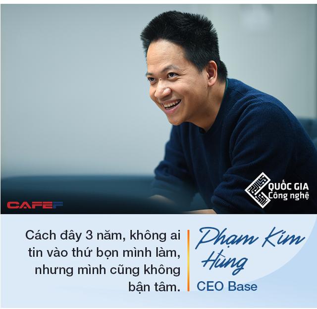 CEO Base Phạm Kim Hùng: Làm startup công nghệ muốn thành công thì cần nhất là chăm chỉ, làm việc từ 12 đến 16 tiếng/ngày trong nhiều năm - Ảnh 11.