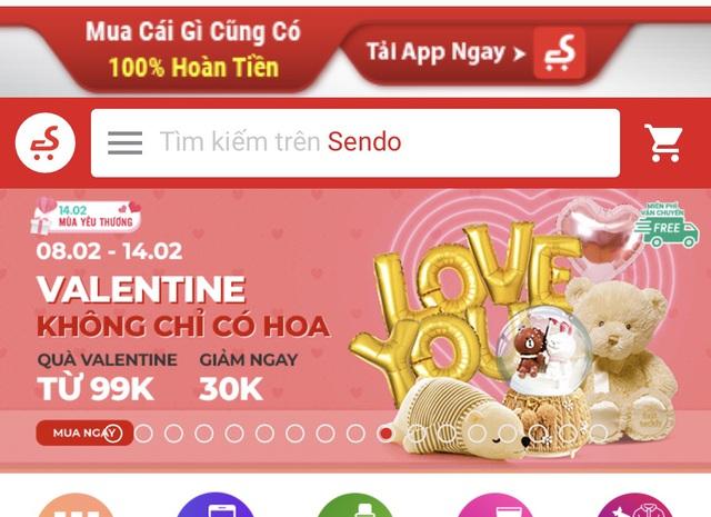 Thương mại điện tử, hàng tiêu dùng rộn ràng mùa Valentine bất chấp dịch nCov - Ảnh 1.