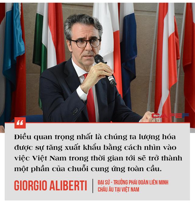 Trưởng phái đoàn EU tại Việt Nam: EVFTA là bệ phóng đưa Việt Nam tham gia sâu vào chuỗi cung ứng toàn cầu, có thể tăng lượng xuất khẩu vào EU thêm 15 tỷ EUR - Ảnh 8.