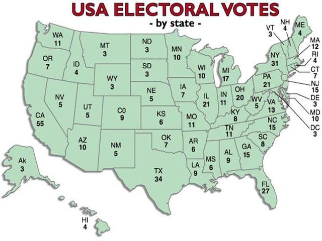 Bầu cử Tổng thống Mỹ 2020 diễn ra gay cấn và phức tạp thế nào? - Ảnh 2.