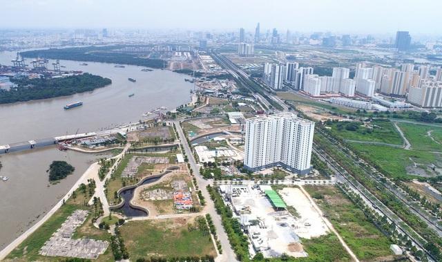 """Hàng trăm dự án """"đứng hình"""", cần giải pháp giải phóng """"điểm nghẽn"""" của thị trường bất động sản Tp.HCM - Ảnh 2."""