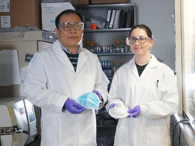 Các nhà khoa học Canada công bố tìm ra một loại mặt nạ mới có chức năng TIÊU DIỆT virus corona thay vì chỉ ngăn chặn chúng xâm nhập vào cơ thể - Ảnh 3.