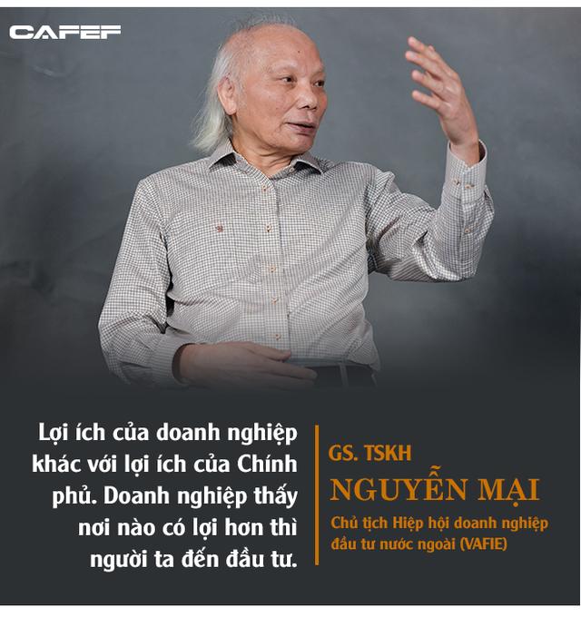 GS. Nguyễn Mại: Tương lai dòng FDI vào Việt Nam và nỗi lo của những doanh nghiệp như Samsung khi Vingroup, Viettel... lớn lên - Ảnh 2.