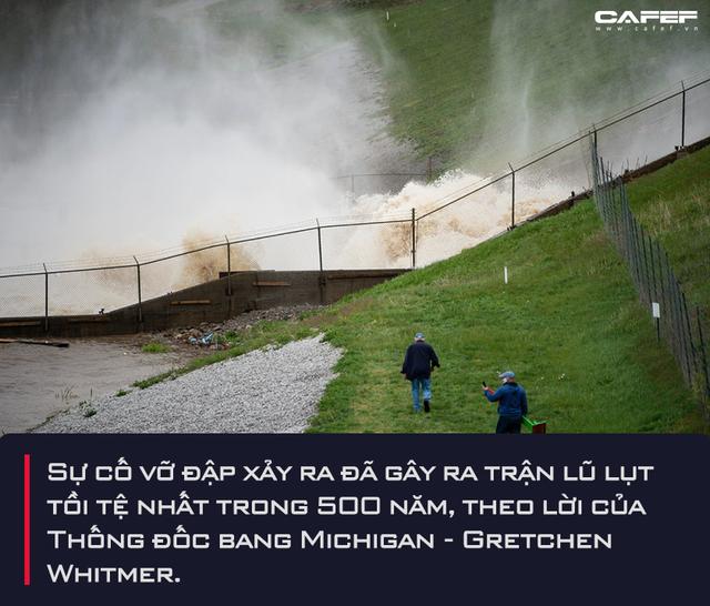 Nhìn lại sự cố vỡ đập tại một bang ở Mỹ: Hồi chuông cảnh báo về hàng chục nghìn con đập xuống cấp trầm trọng, lũ lụt lớn có thể xảy ra bất kể lượng mưa - Ảnh 2.