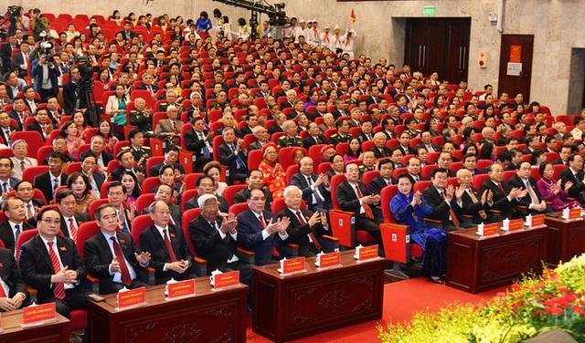 Tổng Bí thư, Chủ tịch nước Nguyễn Phú Trọng dự và chỉ đạo Đại hội Đảng bộ TP Hà Nội XVII  - Ảnh 2.