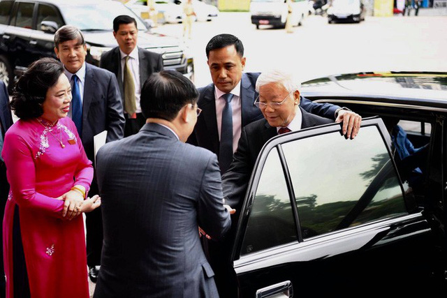 Tổng Bí thư, Chủ tịch nước Nguyễn Phú Trọng dự và chỉ đạo Đại hội Đảng bộ TP Hà Nội XVII  - Ảnh 5.