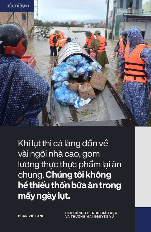 """Từ một người con Hà Tĩnh lớn lên cùng lũ lụt: Trẻ con cũng được học buộc cửa chống gió, cả làng """"không nhà nào là nhà riêng"""" khi lũ về và câu chuyện gói mỳ tôm cứu nạn - Ảnh 5."""
