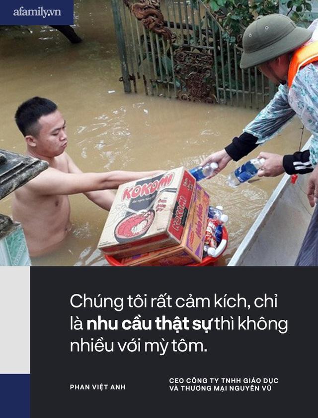 """Từ một người con Hà Tĩnh lớn lên cùng lũ lụt: Trẻ con cũng được học buộc cửa chống gió, cả làng """"không nhà nào là nhà riêng"""" khi lũ về và câu chuyện gói mỳ tôm cứu nạn - Ảnh 6."""