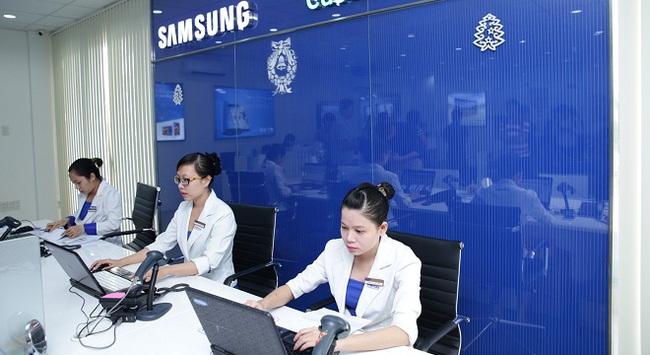 """Samsung """"tiết lộ"""" bí quyết làm nên dịch vụ đẳng cấp"""