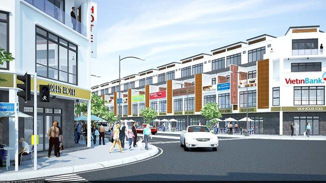 Green City Đà Nẵng bán mới nhà phố kinh doanh cao cấp Shop House Gold