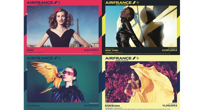 Mừng sinh nhật Air France, bay Châu Âu & Châu Mỹ với giá rẻ bất ngờ