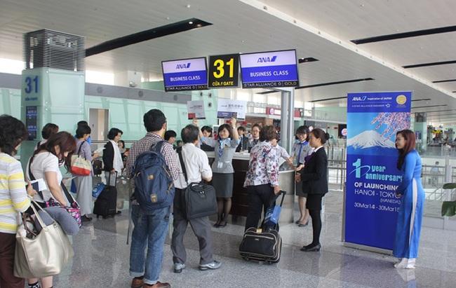 All Nippon Airways khuyến mại lớn kỉ niệm một năm khai trương đường bay Hà Nội – Tokyo