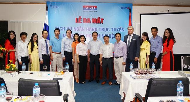 VRB ưu đãi khách hàng doanh nghiệp nhân dịp ra mắt dịch vụ ngân hàng trực tuyến