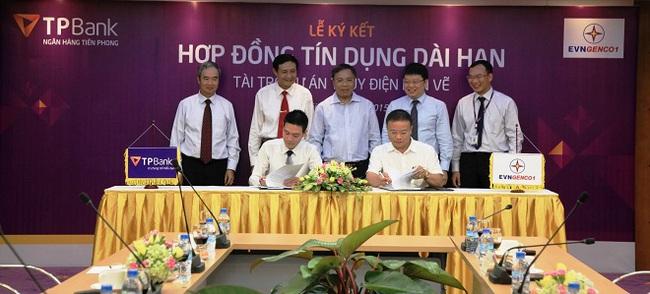TPBank ký kết hợp đồng tín dụng dài hạn với Tổng công ty Phát điện 1