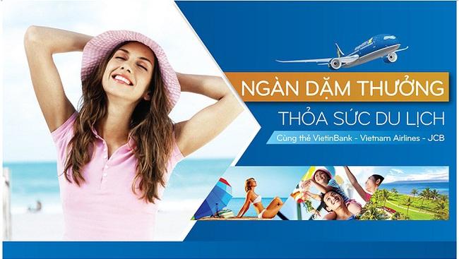 VietinBank tri ân khách hàng sử dụng thẻ VietinBank – Vietnam Airlines – JCB
