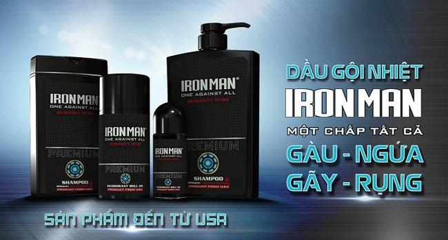"""Ironman, dầu gội nhiệt sinh học đến từ Mỹ: Bất ngờ ngay màn """"chào sân"""""""