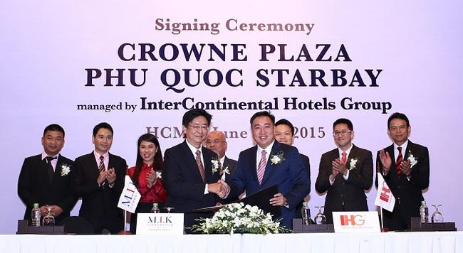 Crowne Plaza- sự hợp tác giữa M.I.K và IHG tại đảo ngọc Phú Quốc