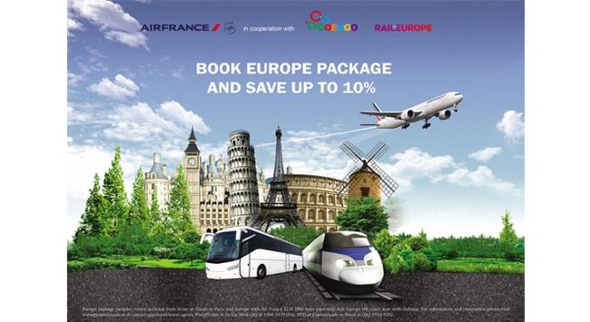 Air France ra mắt gói sản phẩm du lịch châu Âu hấp dẫn