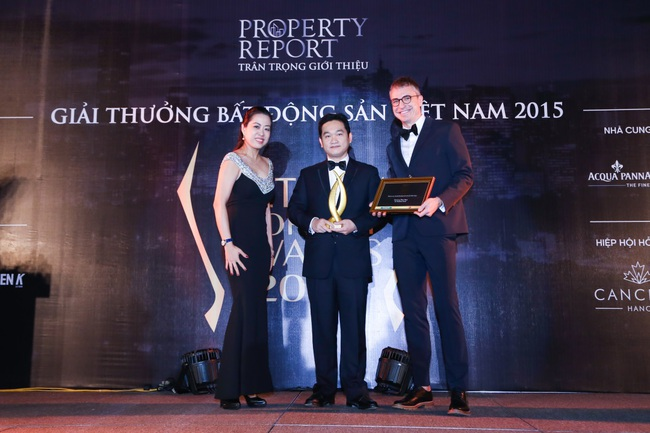 Gateway Thao Dien được vinh danh tại Vietnam Property Awards 2015