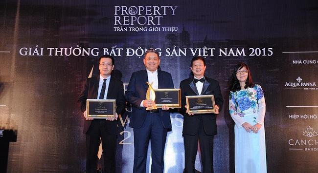 Gamuda Gardens vinh dự nhận giải thưởng Bất động sản Việt Nam 2015