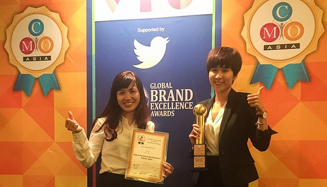 """""""Trung tâm mạng xã hội"""" của Ngân hàng BIDV được CMO Asia vinh danh"""