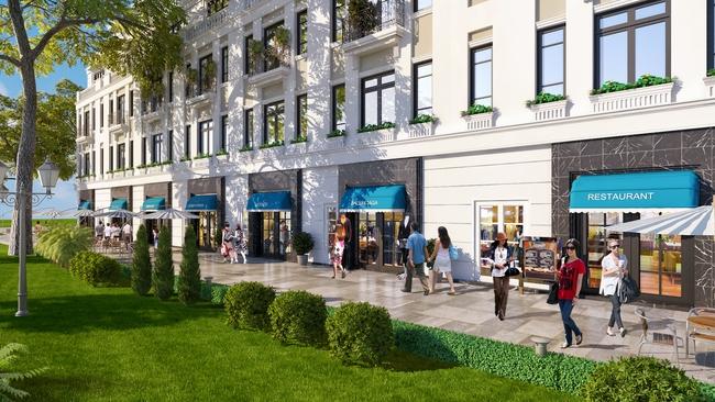 Vingroup mở bán dự án Vincom Shophouse Hải Phòng