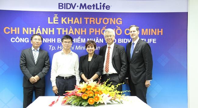 BIDV MetLife mở Chi nhánh tại TP. Hồ Chí Minh