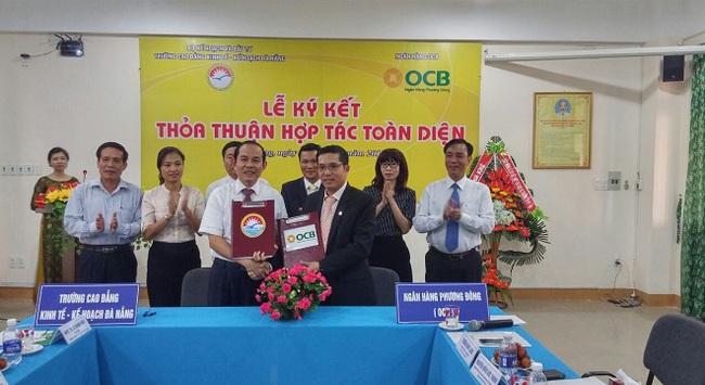 OCB kí kết hợp tác chiến lược với trường Cao Đẳng Kinh Tế Kế hoạch Đà Nẵng
