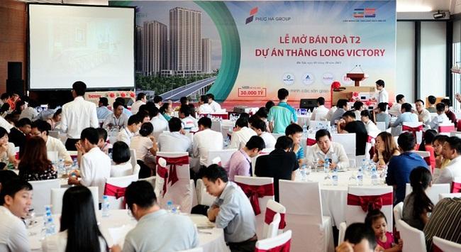 Mở bán thành công Tòa nhà T2 dự án Thăng Long Victory